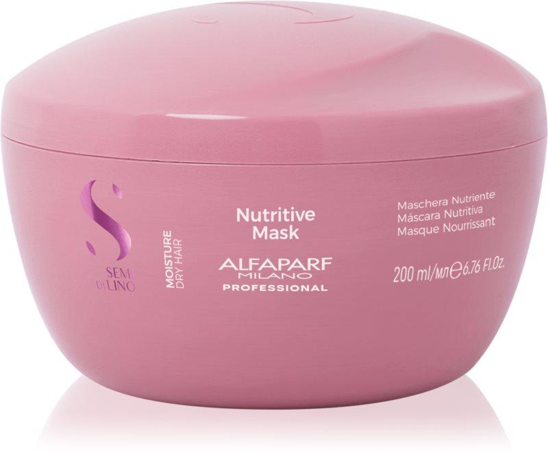 Alfaparf Milano Semi di Lino Moisture Maske für die Haare für trockenes Haar