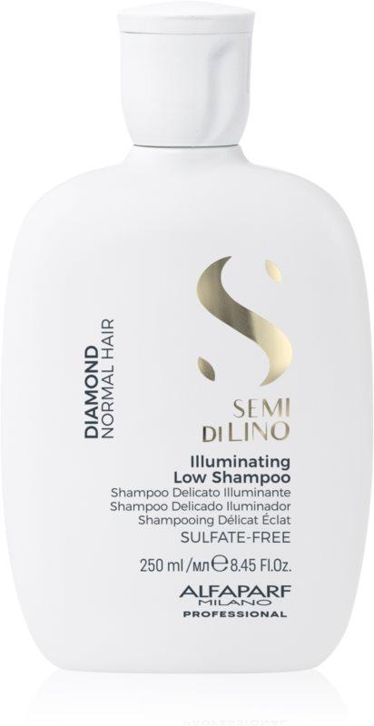 Alfaparf Milano Semi di Lino Diamond Illuminating rozjasňujúci šampón pre normálne vlasy