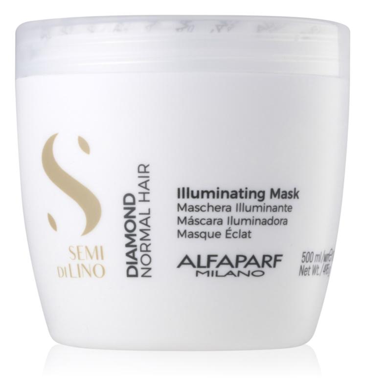 Alfaparf Milano Semi di Lino Diamond Illuminating maska za posvetlitev brez sulfatov in parabenov