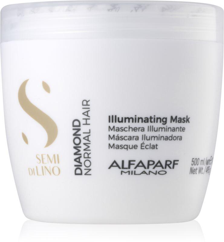 Alfaparf Milano Semi di Lino Diamond Illuminating rozjasňujúca maska bez sulfátov a parabénov