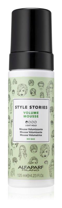 Alfaparf Milano Style Stories Volume Mousse pena pre objem vlasov