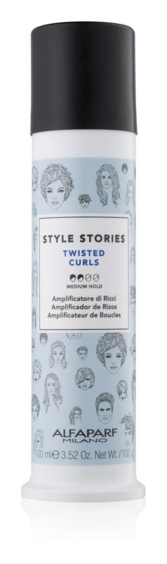 Alfaparf Milano Style Stories The Range Texturizing cremă styling pentru definirea buclelor fixare medie
