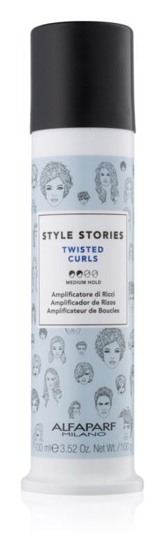 Alfaparf Milano Style Stories The Range Texturizing Styling Cream for Curl Definition Medium Control