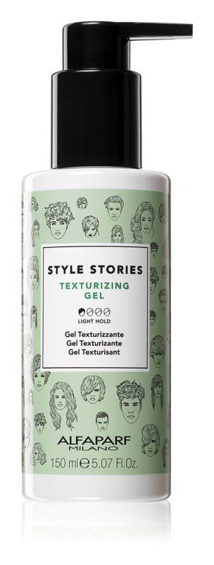 Alfaparf Milano Style Stories The Range Texturizing stylingový gel s jemně tužícím efektem pro zvětšení objemu
