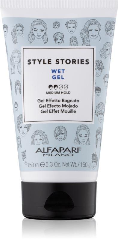 Alfaparf Milano Style Stories The Range Gel gel za lase z mokrim učinkom s srednjim utrjevanjem