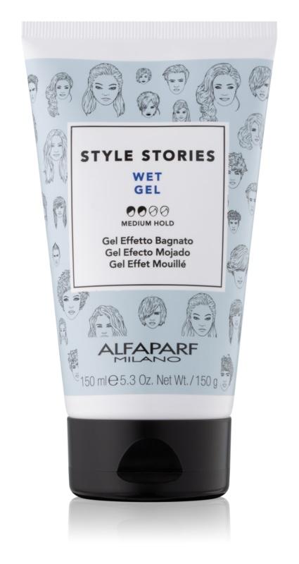Alfaparf Milano Style Stories The Range Gel vizes hatású hajzselé közepes fixálás