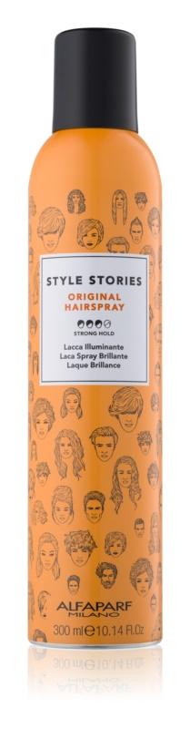 Alfaparf Milano Style Stories Original lak na vlasy silné zpevnění