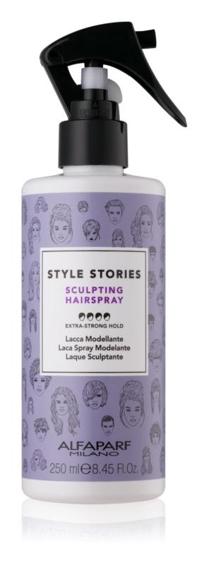 Alfaparf Milano Style Stories The Range Hairspray haj spray extra erős fixálás