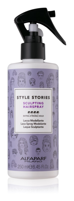 Alfaparf Milano Style Stories The Range Hairspray spray per capelli fissante extra forte