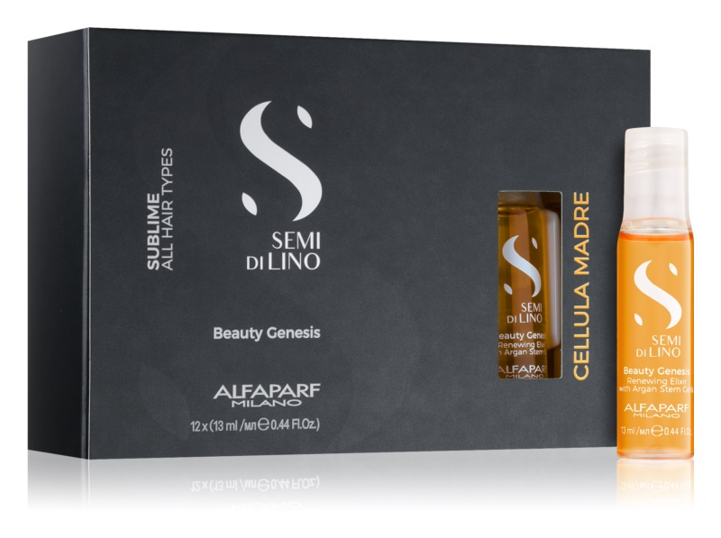 Alfaparf Milano Semi di Lino Beauty Genesis сироватка для волосся