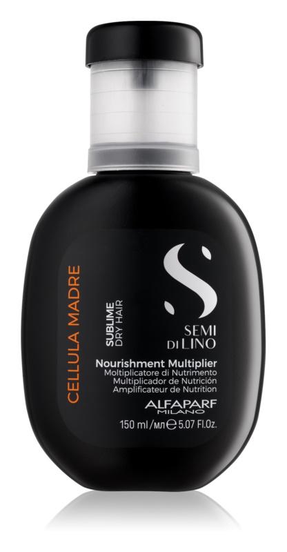 Alfaparf Milano Semi di Lino Sublime Nutrishment Multiplier koncentrátum száraz hajra