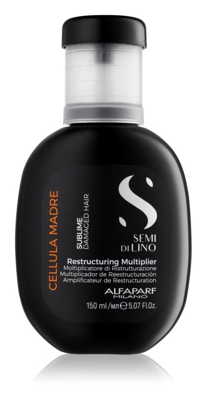Alfaparf Milano Semi di Lino Sublime Rescructuring Multiplier koncentrát pre poškodené vlasy