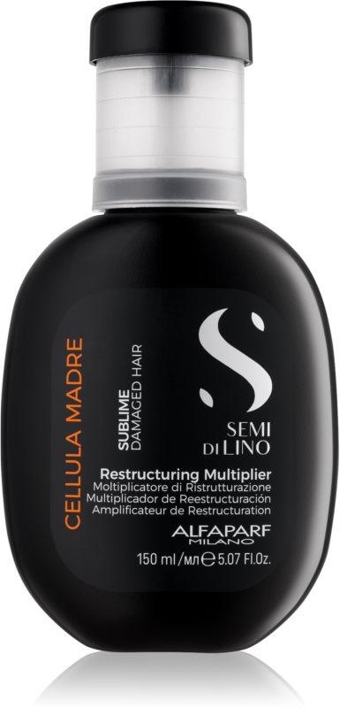 Alfaparf Milano Semi di Lino Sublime Rescructuring Multiplier  Konzentrat für beschädigtes Haar