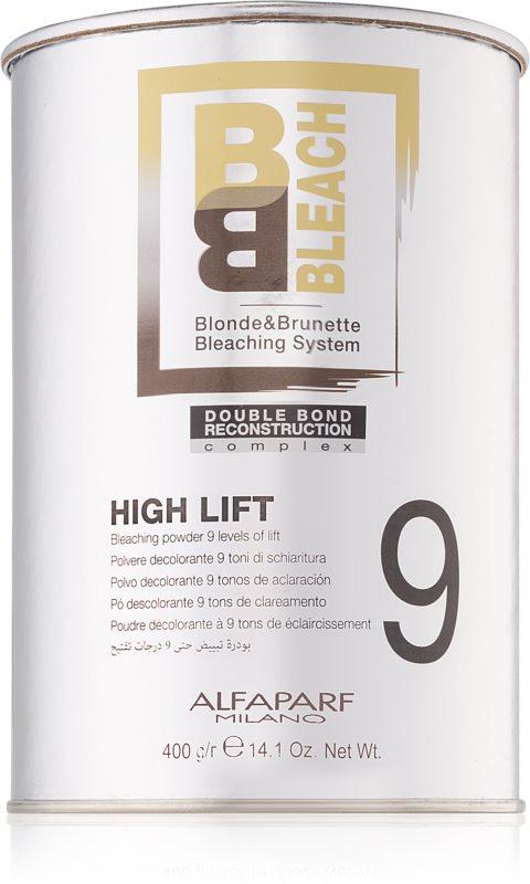 Alfaparf Milano B&B Bleach High Lift 9 pudr pro extra zesvětlení
