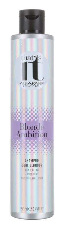 Alfaparf Milano That s it Blonde Ambition šampón pre studené odtiene blond