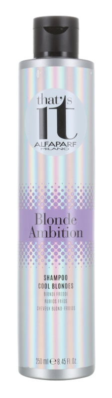 Alfaparf Milano That s it Blonde Ambition šampon pro studené odstíny blond