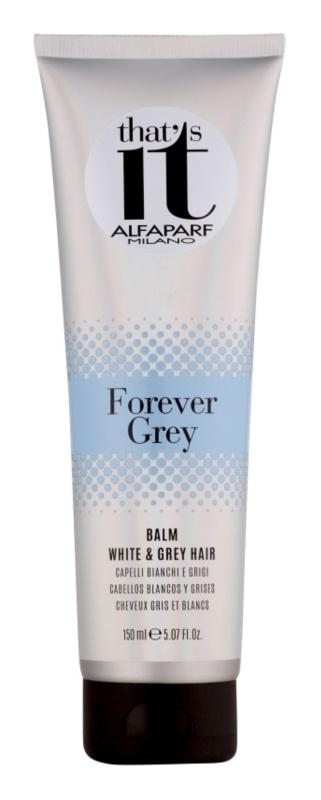 Alfaparf Milano That s it Forever Grey kondicionáló szőke és ősz hajra