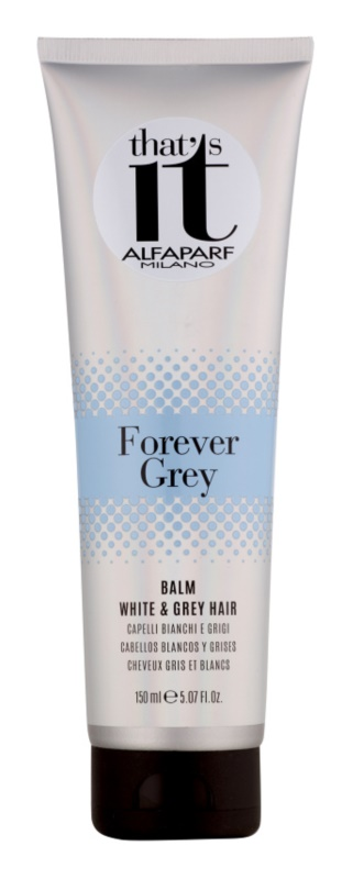 Alfaparf Milano That s it Forever Grey kondicionér pre blond a šedivé vlasy