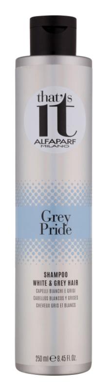 Alfaparf Milano That s it Grey Pride sampon ősz hajra
