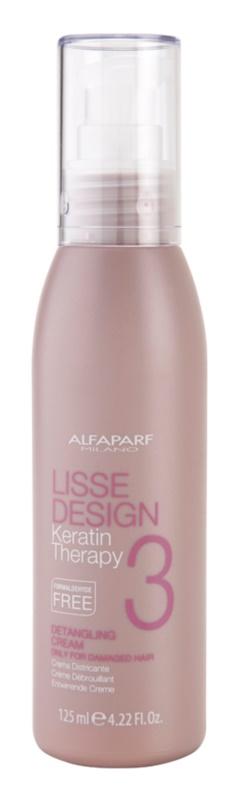 Alfaparf Milano Lisse Design Keratin Therapy krém  a hajformázáshoz, melyhez magas hőfokot használunk
