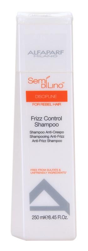 Alfaparf Milano Semi di Lino Discipline shampoing pour cheveux indisciplinés et frisottis