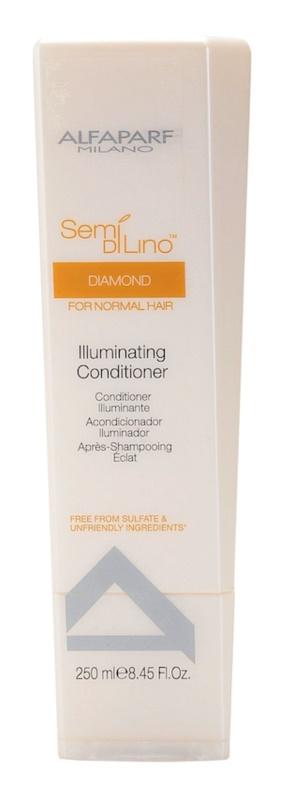 Alfaparf Milano Semi di Lino Diamond Illuminating après-shampoing brillance