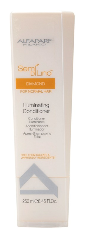 Alfaparf Milano Semi di Lino Diamond Illuminating Conditioner  voor Glans
