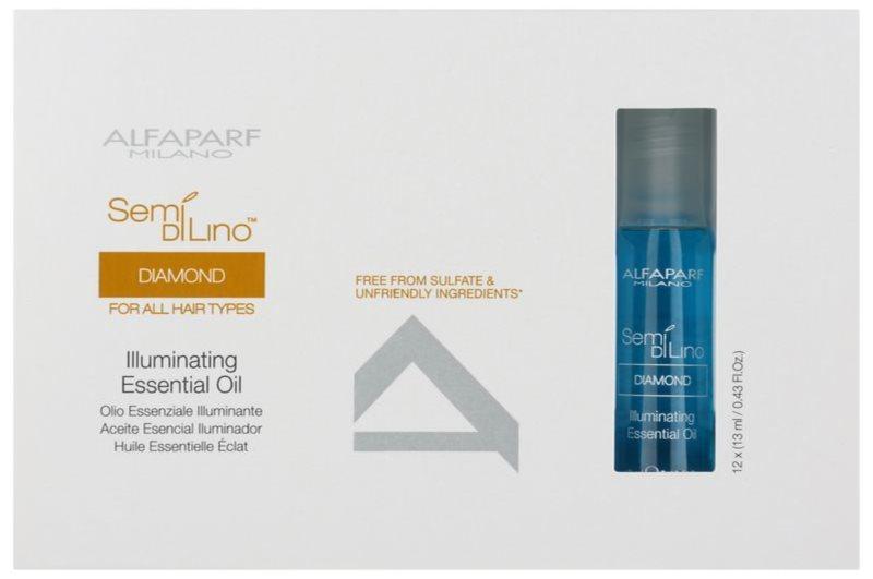 Alfaparf Milano Semi di Lino Diamond Illuminating olej pre lesk