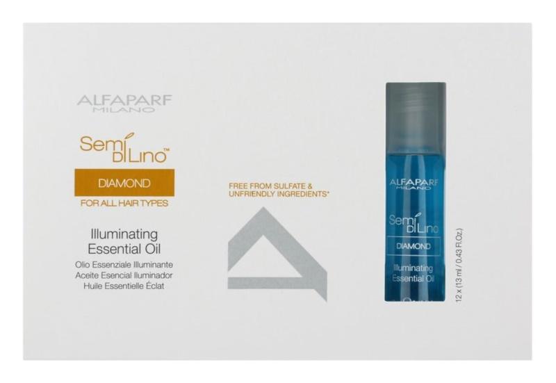 Alfaparf Milano Semi di Lino Diamond Illuminating Olie  voor Glans