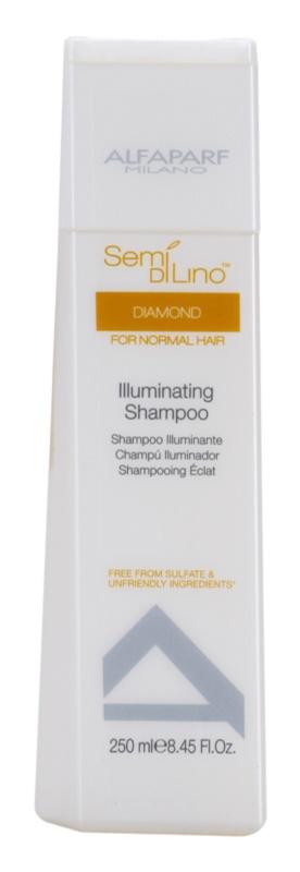 Alfaparf Milano Semi di Lino Diamond Illuminating champô para dar brilho