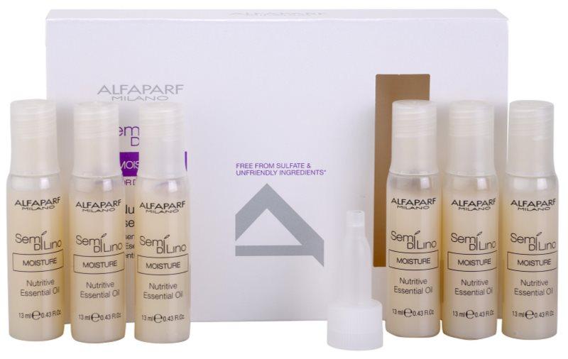 Alfaparf Milano Semi di Lino Moisture nährendes Öl für trockenes Haar