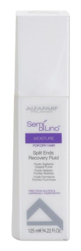 Alfaparf Milano Semi di Lino Moisture obnovující fluid na roztřepené konečky vlasů