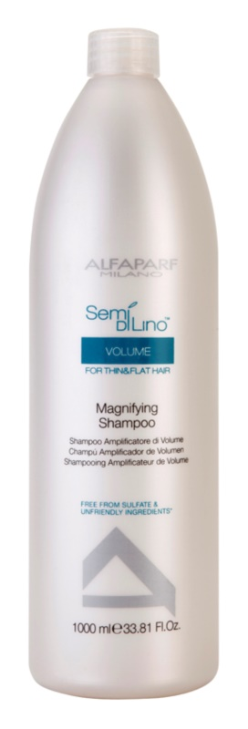 Alfaparf Milano Semi di Lino Volume champô para dar volume para cabelo fino e sem volume