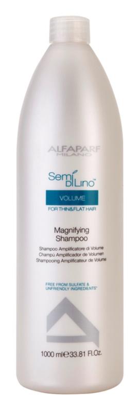 Alfaparf Milano Semi di Lino Volume objemový šampon pro jemné a zplihlé vlasy