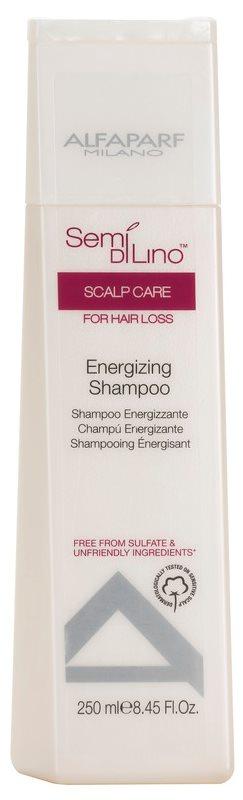 Alfaparf Milano Semi di Lino Scalp Care szampon energizujący przeciw wypadaniu włosów