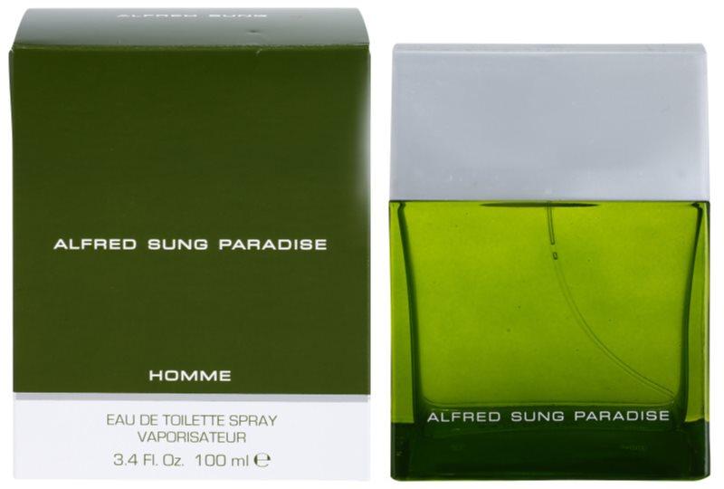 Alfred Sung Paradise eau de toilette pentru barbati 100 ml