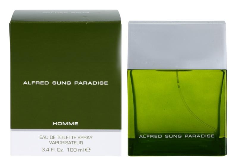 Alfred Sung Paradise Eau de Toilette voor Mannen 100 ml