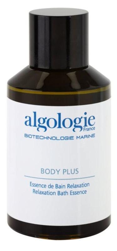 Algologie Body Plus óleo de banho com óleos essenciais e extratos de plantas mediterrâneas