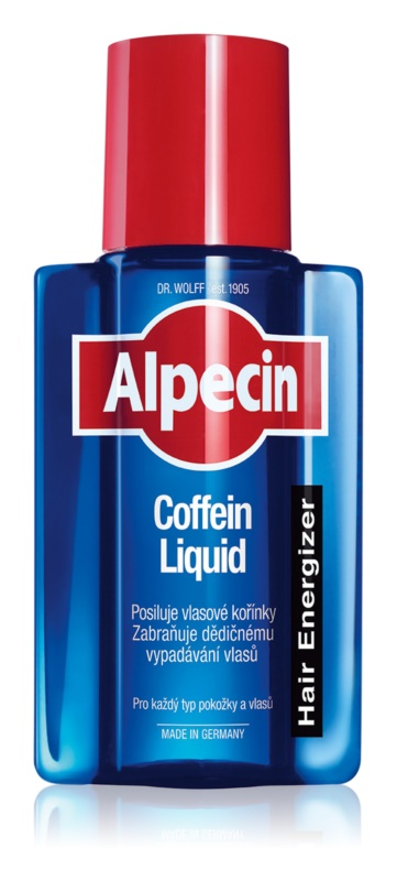 Alpecin Hair Energizer Caffeine Liquid Caffeine Tonic To Treat Losing Hair For Men