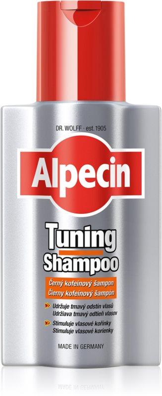 alpecin tuning shampoo shampoing colorant premiers. Black Bedroom Furniture Sets. Home Design Ideas