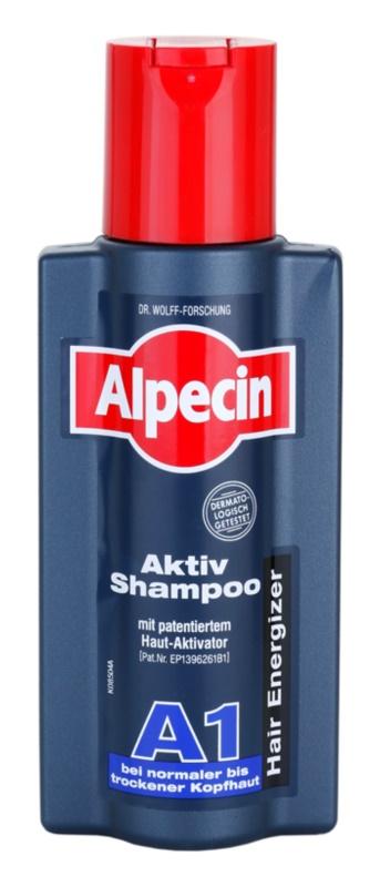 Alpecin Hair Energizer Aktiv Shampoo A1 aktivačný šampón pre normálnu až suchú pokožku hlavy