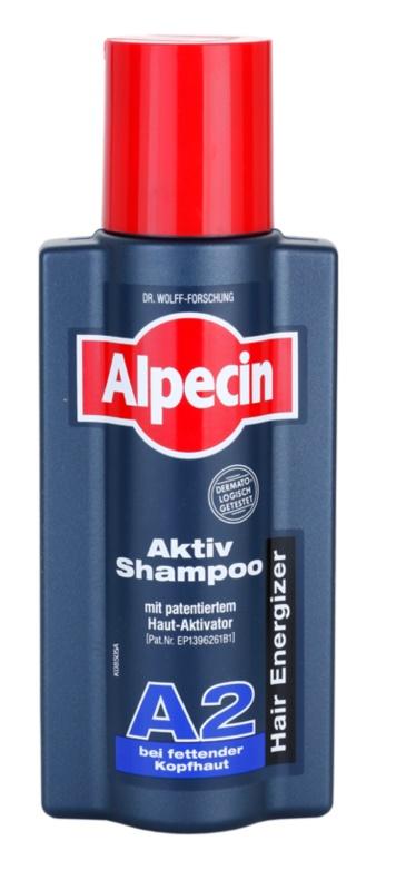 Alpecin Hair Energizer Aktiv Shampoo A2 Shampoo voor Vet Haar