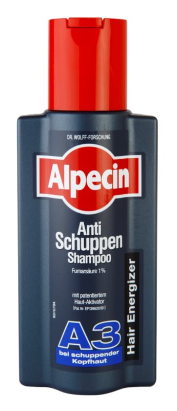 Alpecin Hair Energizer Aktiv Shampoo A3 shampoo attivatore contro la forfora
