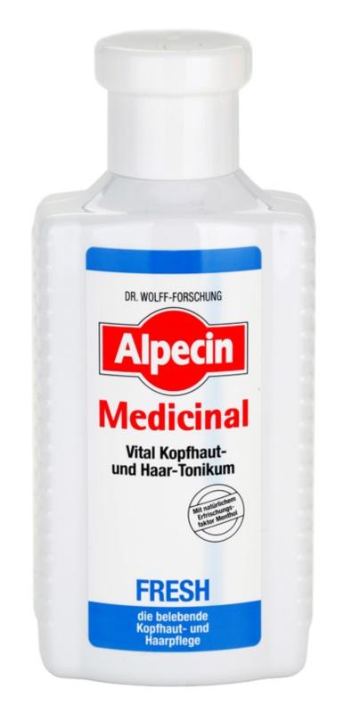 Alpecin Medicinal Fresh osvěžující tonikum pro mastnou pokožku hlavy