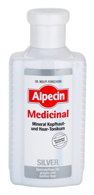 Alpecin Medicinal Silver tonic pentru par neutralizeaza tonurile de galben