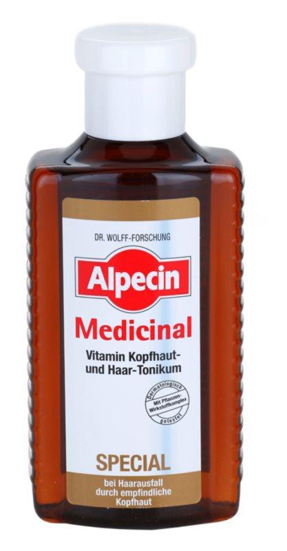 Alpecin Medicinal Special тоник срещу косопад за чувствителна кожа на скалпа