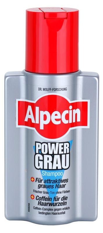 Alpecin Power Grau šampon za naglašavanje sivih nijansi kose