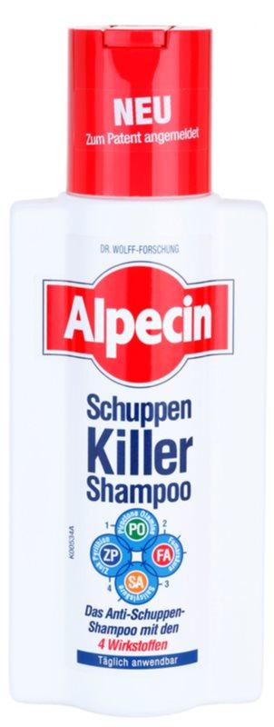 Alpecin Schuppen Killer shampoo antiforfora