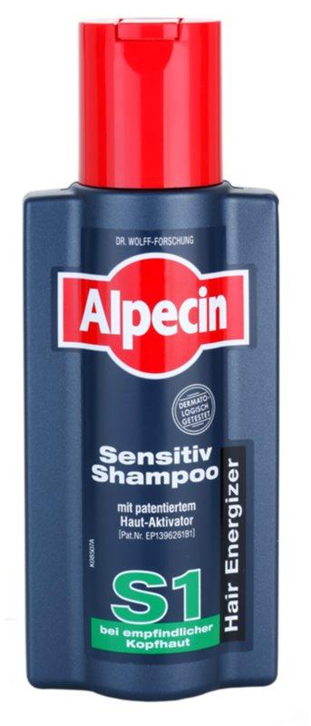 Alpecin Hair Energizer Sensitiv Shampoo S1 aktiváló sampon érzékeny fejbőrre
