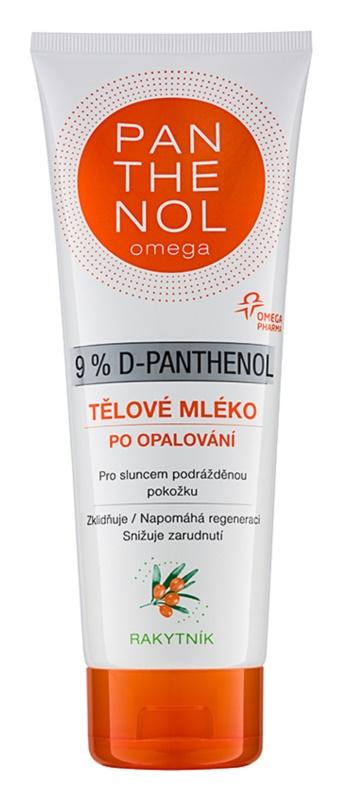 Altermed Panthenol Omega telové mlieko po opaľovaní s rakytníkom